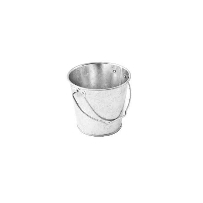 Galvanised Steel Round Bucket 0.5L 10 x 9cm