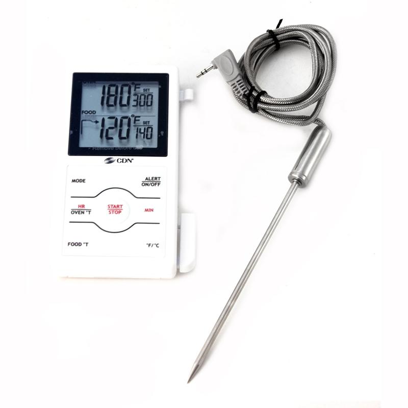 CDN Dual Sensing Probe Thermometer/Timer