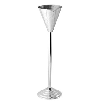 Conical Wine Stand – Hammered Finish