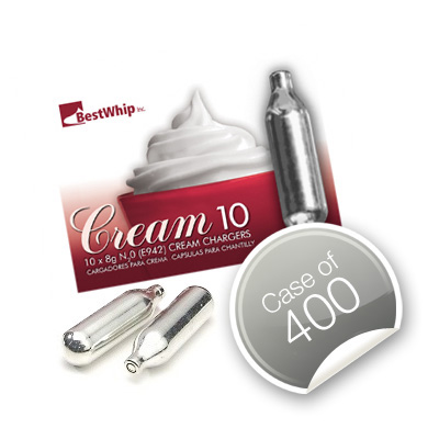 Best Whip Cream Chargers – Case of 400
